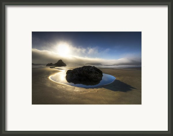 The Rock Framed Print By Debra And Dave Vanderlaan