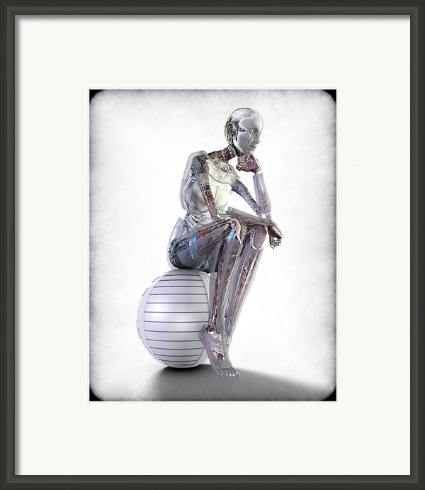 The Thinking Machine Framed Print By Frederico Borges