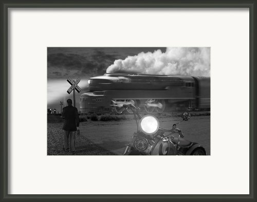 The Wait Framed Print By Mike Mcglothlen