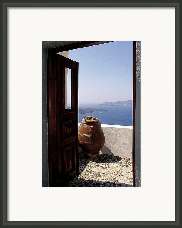 Through This Door Framed Print By Julie Palencia