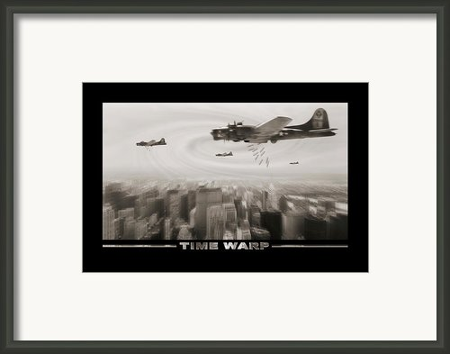 Time Warp Framed Print By Mike Mcglothlen