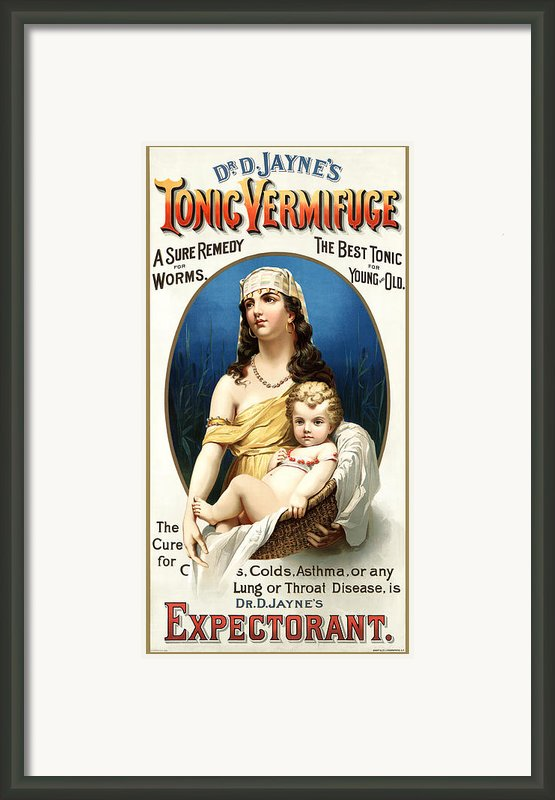 Tonic Vermifuge Framed Print By Gary Grayson
