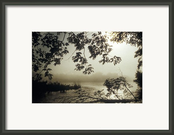Ussuri Territory The Ussuri River Framed Print By Anonymous