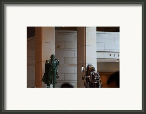 Washington Dc - Us Capitol - 01134 Framed Print By Dc Photographer
