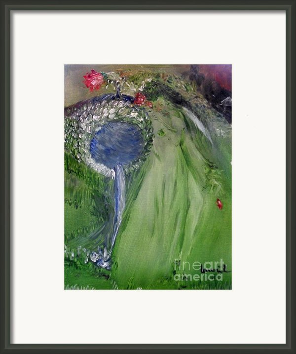 Water Girl Framed Print By Laurie D Lundquist