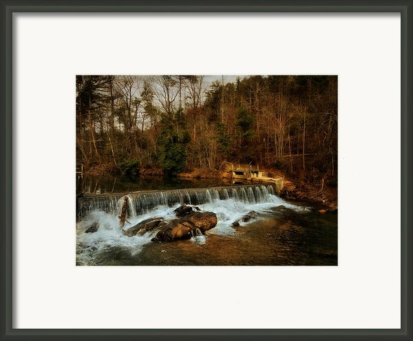 Waterfall Framed Print By Mario Celzner