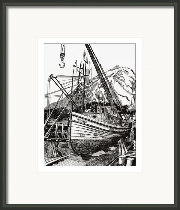 Will Fish Again Another Day Framed Print By Jack Pumphrey