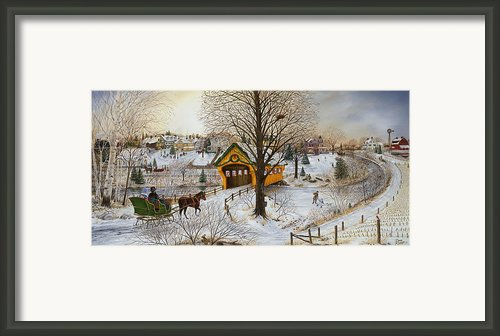 Winter Memories Framed Print By Doug Kreuger