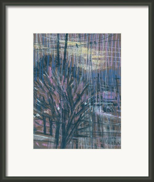 Wired Framed Print By Donald Maier