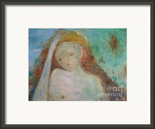 Woman Of Sorrows Framed Print By Laurie D Lundquist