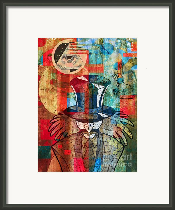 Wonderland Framed Print By Robert Ball