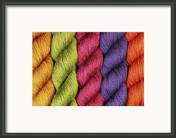Yarn With A Twist Framed Print By Jim Hughes