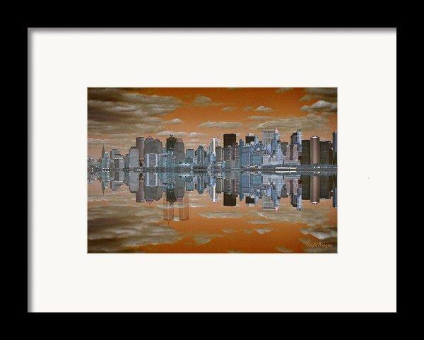 Yesterday Reflexions Framed Print By Coqle Aragrev