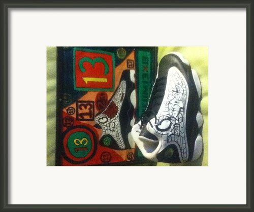 13 Framed Print By Mj  Museum