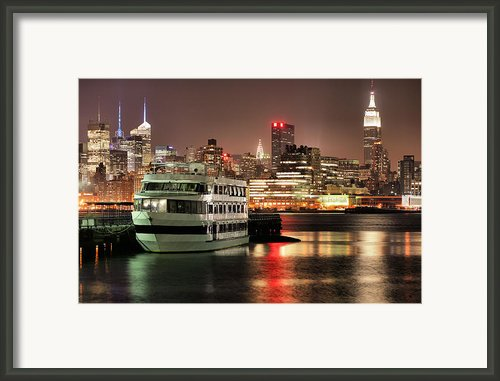 14th Street Framed Print By Jc Findley