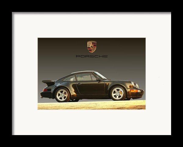 Porsche 911 3.2 Carrera 964 Turbo Framed Print By Ganesh Krishnan
