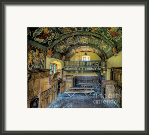 17th Century Chapel Framed Print By Adrian Evans