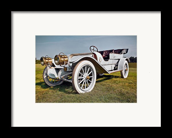 1910 Franklin Type H Touring Framed Print By Marcia Colelli
