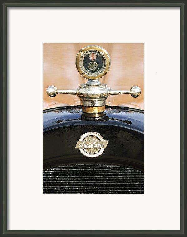 1922 Studebaker Touring Hood Ornament Framed Print By Jill Reger