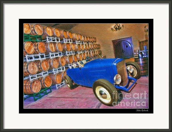 1927 Ford Roadster Framed Print By Blake Richards