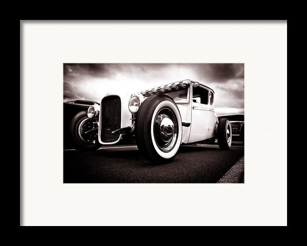 1928 A Coupe Framed Print By Phil