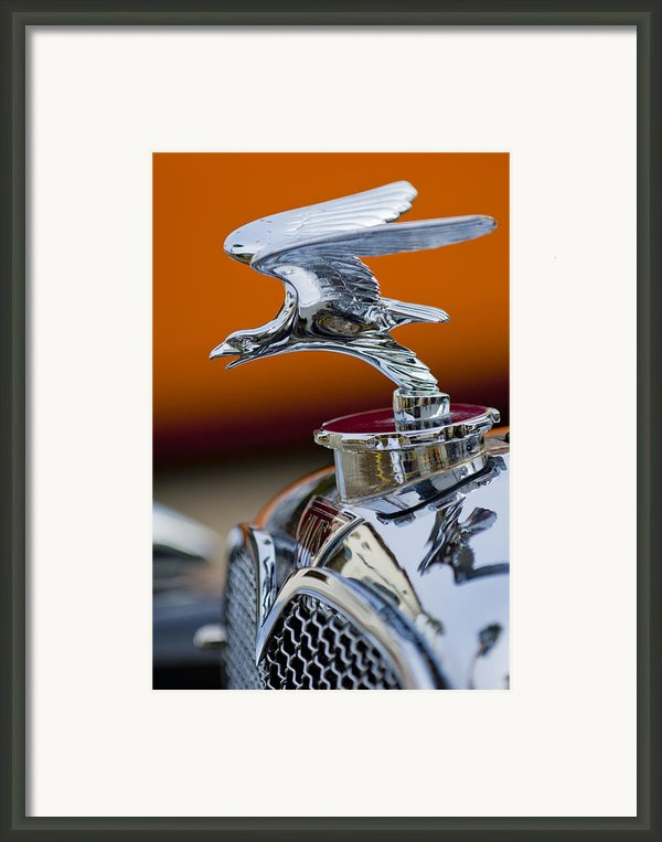 1932 Alvis Hood Ornament 2 Framed Print By Jill Reger