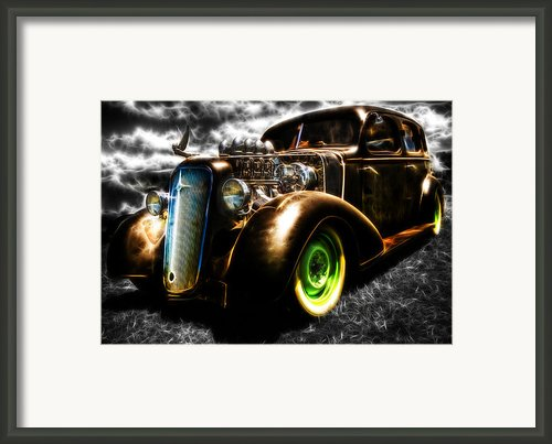 1936 Chevrolet Sedan Framed Print By Phil