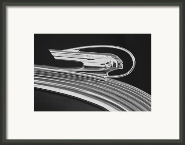 1936 Pontiac Hood Ornament 5 Framed Print By Jill Reger