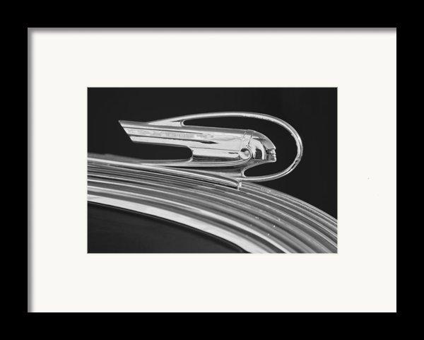 1936 Pontiac Hood Ornament 5 Framed Print By Jill Reger