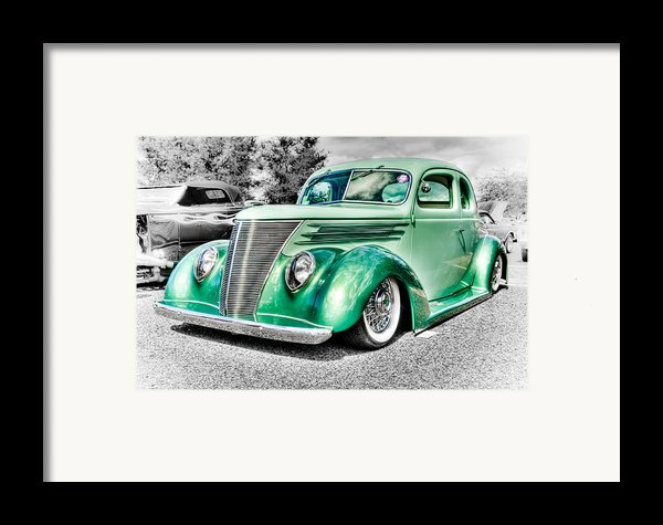 1937 Ford Coupe Framed Print By Phil