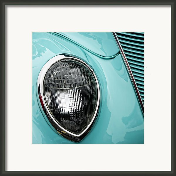 1937 Ford Sedan Slantback Square Framed Print By Carol Leigh