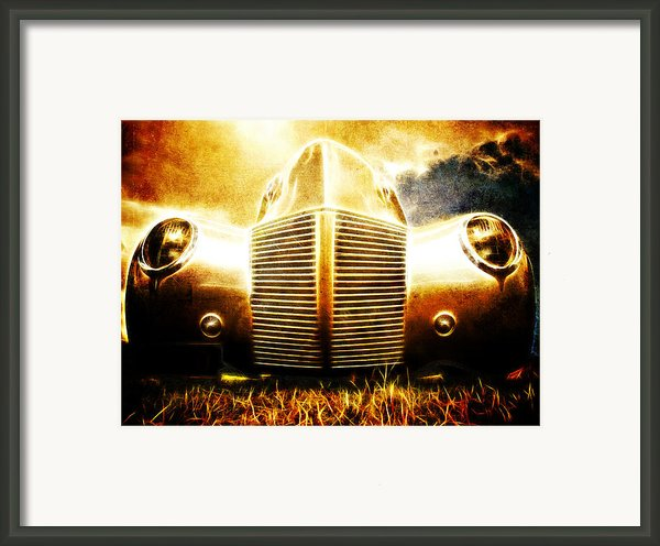 1939 Ford Roadster Framed Print By Phil