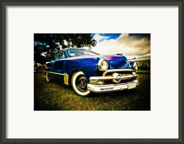 1951 Ford Custom Framed Print By Phil