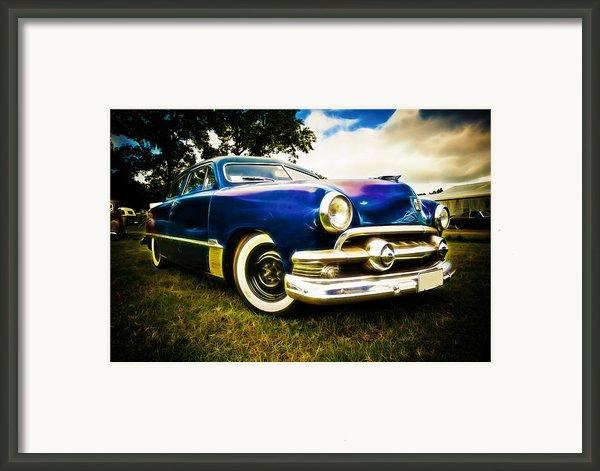 1951 Ford Custom Framed Print By Phil