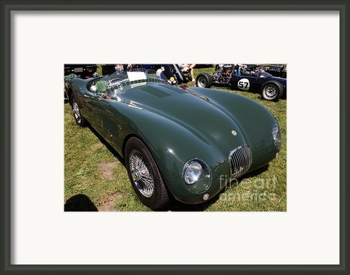 1952 Jaguar Xk120 Roadster 5d22967 Framed Print By Wingsdomain Art And Photography