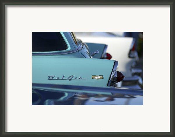 1956 Chevrolet Belair Nomad Rear End Framed Print By Jill Reger