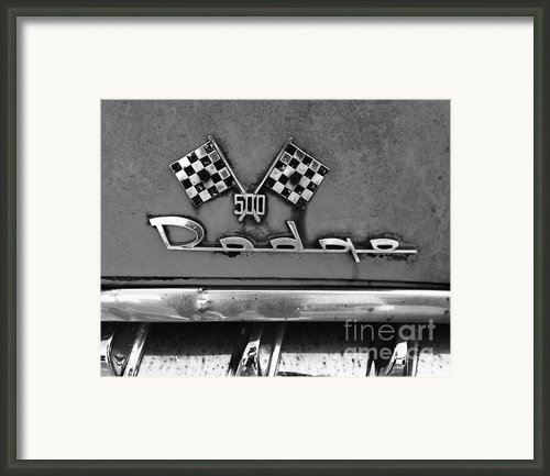 1956 Chevy 500 Series Photo 8 Framed Print By Anna Villarreal Garbis