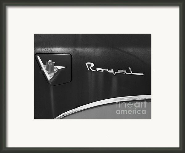 1956 Dodge 500 Series Photo 3 Framed Print By Anna Villarreal Garbis