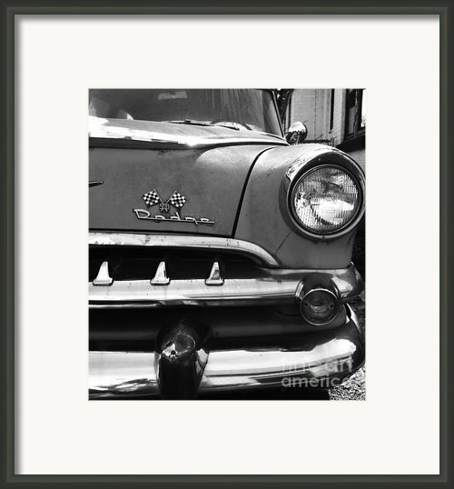 1956 Dodge 500 Series Photo 5 Framed Print By Anna Villarreal Garbis