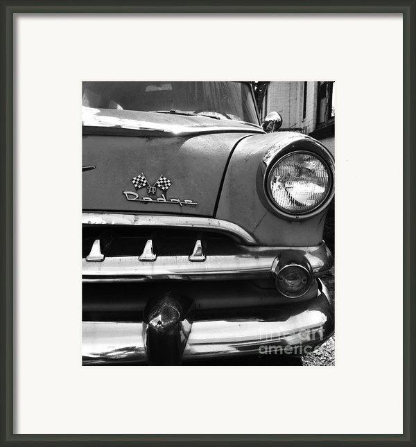 1956 Dodge 500 Series Photo 5 Framed Print By Anna Villarreal Garbis