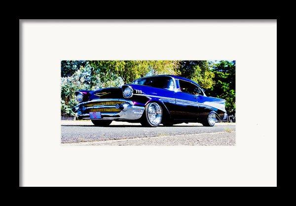 1957 Chevrolet Bel Air Framed Print By Phil