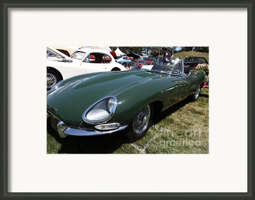 1961 Jaguar Xke Roadster 5d23323 Framed Print By Wingsdomain Art And Photography