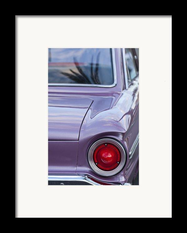 1963 Ford Falcon Tail Light Framed Print By Jill Reger