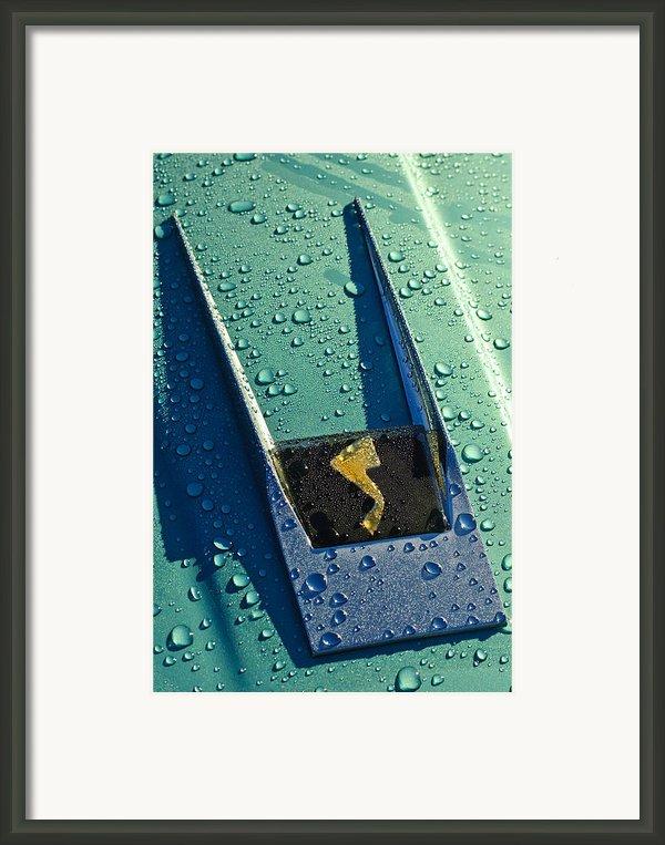 1963 Studebaker Avanti Hood Ornament Framed Print By Jill Reger