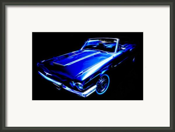 1964 Thunderbird Framed Print By Phil