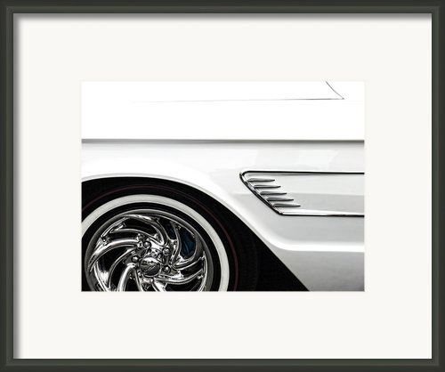 1965 Ford Thunderbird Framed Print By Carol Leigh