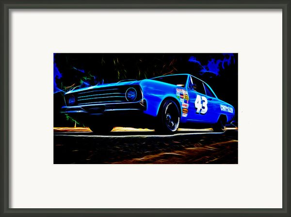 1970 Chrysler Valiant Framed Print By Phil
