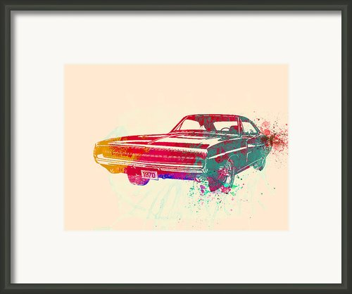 1970 Dodge Charger 1 Framed Print By Irina  March