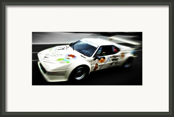 1980 Bmw M1 Procar Framed Print By Phil