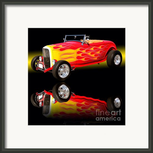 1932 Ford V8 Hotrod Framed Print By Jim Carrell